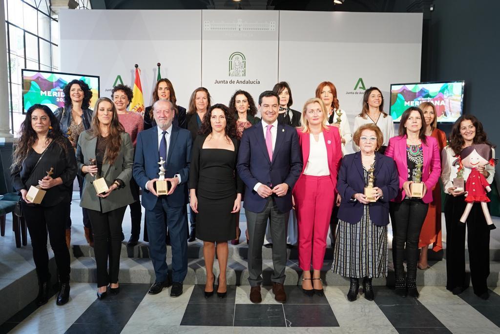Premios Meridiana Instituto Andaluz de la Mujer